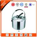 olla de acero inoxidable debuena calidad y ahorro de energia con tapa para cocina de induccion y cocina de gas
