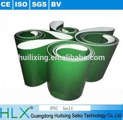 PVC Conveyor Belt with roller . Rubber Conveyor Belt ,Green belt conveyor