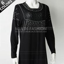 new style beading design woman abaya wholesale islamic clothing muslim abaya