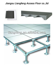 Environmental laminate tile steel cement raised access floor system