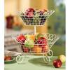 PF-FB005 folding wooden fruit basket