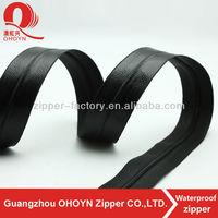 Sale zipper waterproof custom colour PVC nylon waterproof zipper
