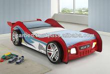 2015 HOT SALE ! SMART KIS 2218STT1SPK-01 GTO Racing Car Bed E1 MDF kids hot sale car bed