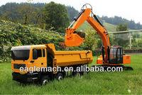 1/14 Scale RC Hydraulic Dump Truck 8x8