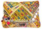 vintage banjara hand embroided tribal ethnic indian heritage clutch bag