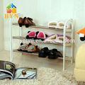 Byn soggiorno scarpiera portatile scarpe cremagliera di esposizione dq-0921 scarpiera in metallo