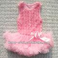 Hot style rosace. sundress robe anniversaire de bébé, vêtements pour bébés