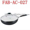 Tapa de aluminio chino de cerámica de cocina Wok
