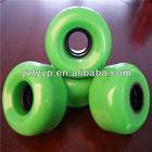 62*38mm high rebound polyurethane quad weel or roller skate wheels