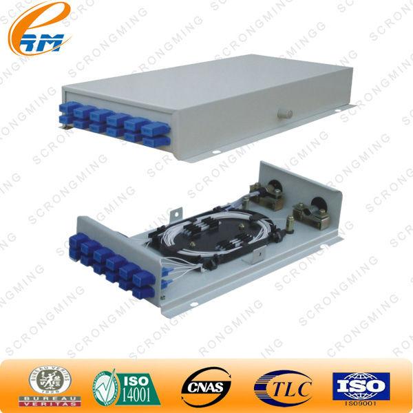 48 порт волоконно-оптический патч-панель. тег. Duplex sc волоконно-оптичес