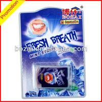OEM teeth edible film breath mint strips