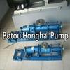 G series stainless steel mono screw honey pump