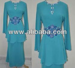 baju kurung cotton, manik, fashion, telekung