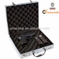 Mld-gc155 nova profissional Heavy Duty revólver Melody alumínio Gun Pistol caso, Tiro, Caça, Camping com chave