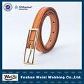 fabricante de moda de diseño personalizado niños cinturones de cuero