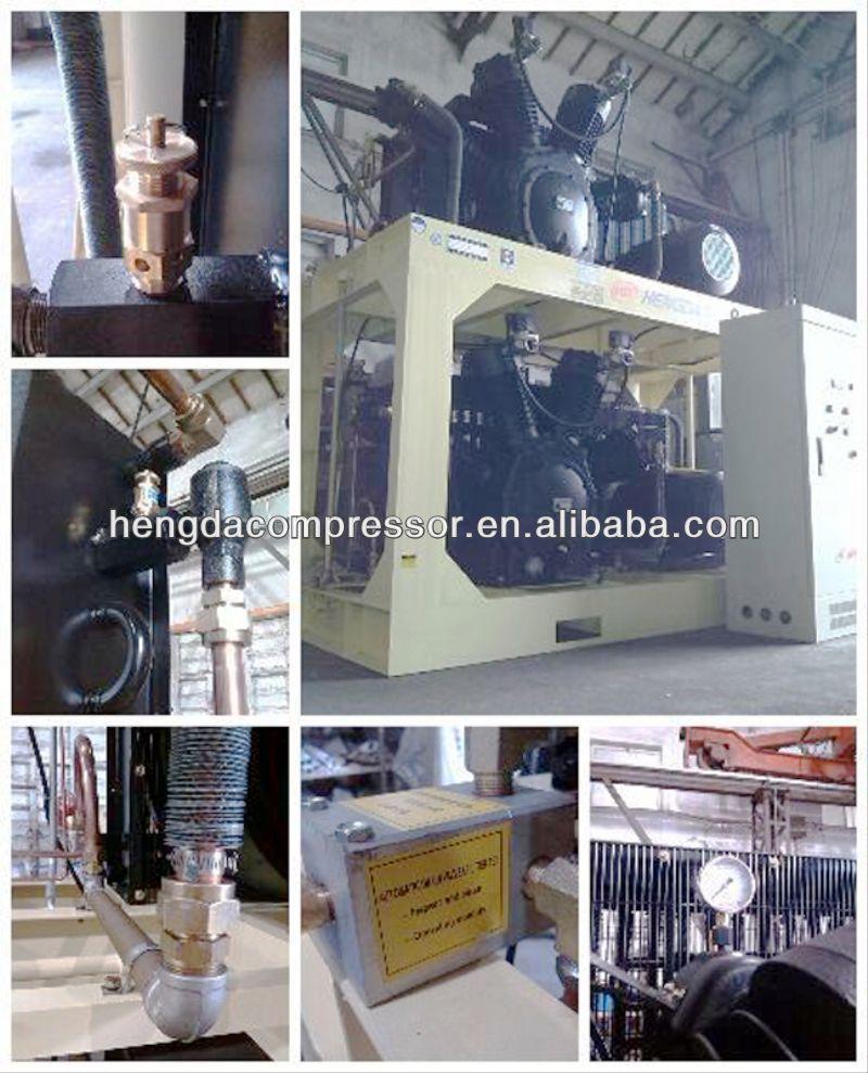 High pressure 12v air compressor 770CFM 508PSI 330HP 22m3 35bar 242kw