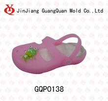 Two color combine PVC and EVA shine shoe mould GQP0138