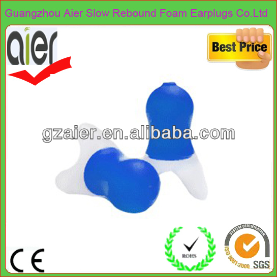 high quality aviation hearing protection silicone ears plugs