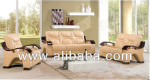 Stock Leather Sofa(G130)