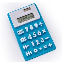 PN 8 Digit Soft Rubber Calculator, Flexible Calculator
