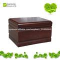 sólidos de madeira caixão fúnebre