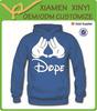 Fashion 100% cotton men's warm thick hoody