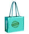 عالية الجودة الجوت حقيبة تسوق قابلة لإعادة الاستخدام وصديقة للبيئة، تدوير لأجل غير مسمى، الغذاء الآمن،، resourc المستدامة