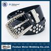 customized design hot selling fashion beaded elastic belt