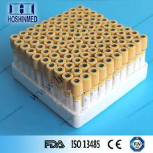 vuoto la raccolta di sangue tubo gel attivatore coagulazione tubo inox tubo