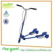 China DaBao Fliker 3 Wheel Zip Swing Scooter with ASTM F963