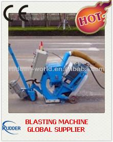 Asphalt pavement blasting machine