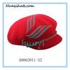 Wholesale Womens wool felt Red outdoor caps hat