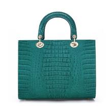 Fashion Crocodile Ladies Handbags Custom Tote Bag Wholesale