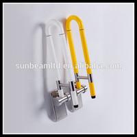 Stainless Steel disabled folding handicap toilet grab bars