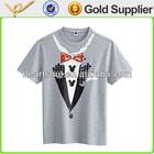 Custom mens o-neck korea cheap vintage t-shirt printing