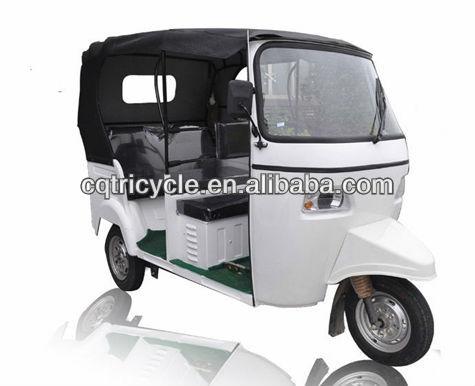 الدراجات النارية ذات العجلات الثلاث الركاب 200cc/ لتعطيل تاكسي الثلاثيه