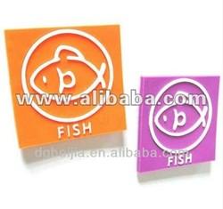 Eco-friendly 3D soft rubber fridge magnet