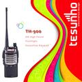 Petit et léger tesunho th-900 robuste professionnel militaire. étanche. uhf. 400 mhz émetteur récepteur de poche