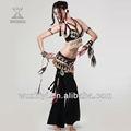 Nuevos sexy tribal de los estados árabes de danza del vientre desgaste, de la manera única de danza del vientre trajes, el rendimiento de la ropa para el bailarín( qc2035)