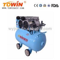 60L tank 1100W 152L/min Noiseless Oil Free Air Compressor