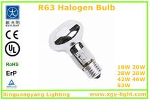 R63 halogen light bulb,display light halogen,energy saving halogen class c bulbs