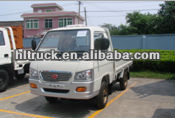 Foton right hand drive light lorry truck