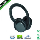 Rechargable active noise canceling Bluetooth wireless headphone