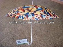aluminium handle long stick umbrella
