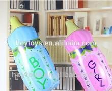 Lovely Milk Bottle Shape Foil Balloon