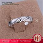 Lekani hot trendy mens white ceramic wedding bands R058