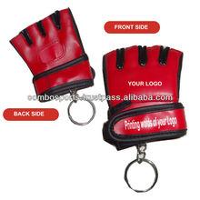 mini MMA glove key chain