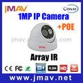 Vision nocturne poe. onvif 720p hd appareil photo numérique de surveillance de sécurité à domicile