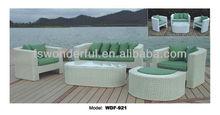 Wdf-921 meubles en rotin extérieur canapé ensemble