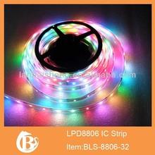 32,48leds/meter rgb led strip digital, instead digital led strip 8806